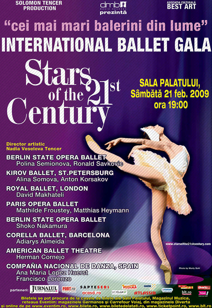 STARS OF THE 21ST CENTURY 2009 - 2